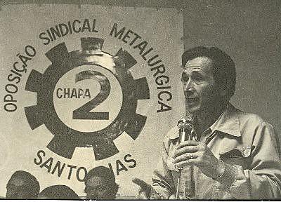 Rossi combateu interventores do regime militar no Sindicato dos Metalúrgicos