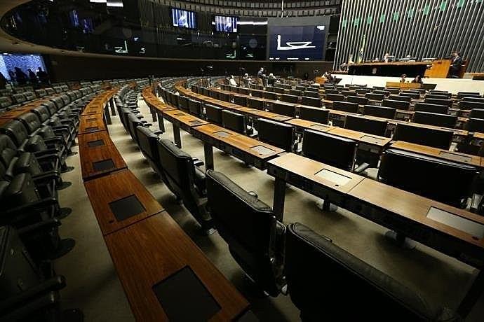 Câmara dos Deputados tem 513 vagas, e o Senado, 81