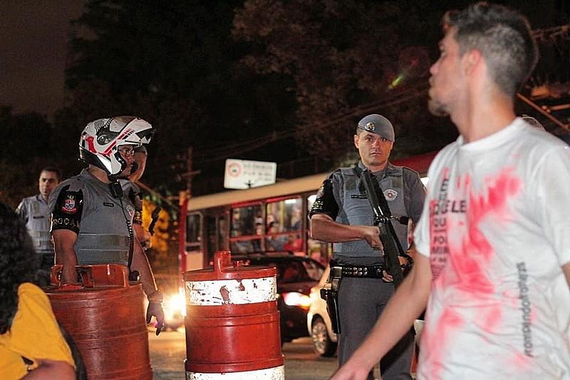 Nove pessoas foram mortas durante ação truculenta da PM-SP