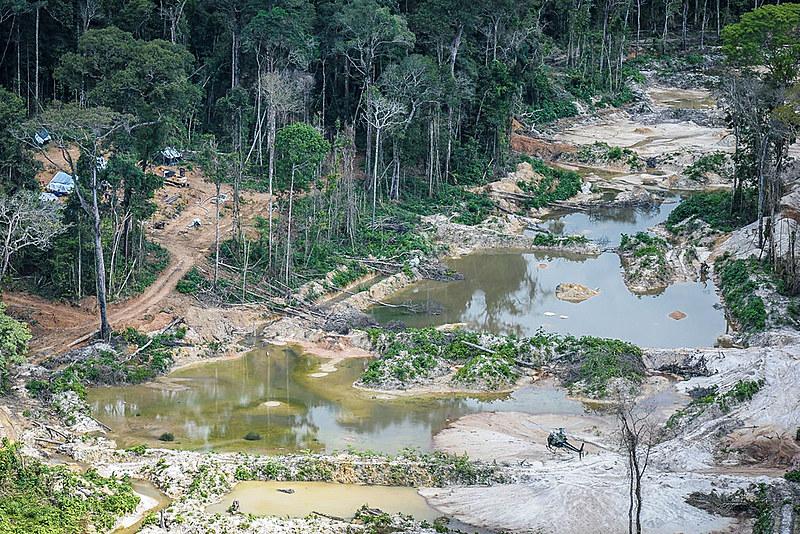Além dos impactos ambientais a o garimpo também impacta na vida de comunidades indígenas da região