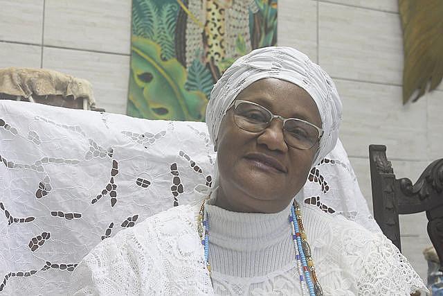 Wanda heredó de su madre el oficio de costurera y la casa de candomblé, o Ilè Iyá Mí Asún Mùíywá, fundada en 1956