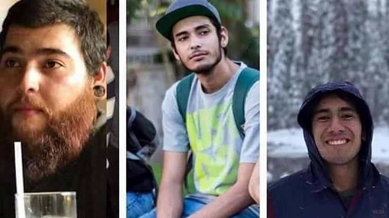 Os três estudantes de cinema foram sequestrados no dia 19 de março
