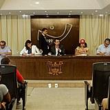 A audiência foi uma das atividades realizadas pelo MST após o ataque ao acampamento Independência Camponesa