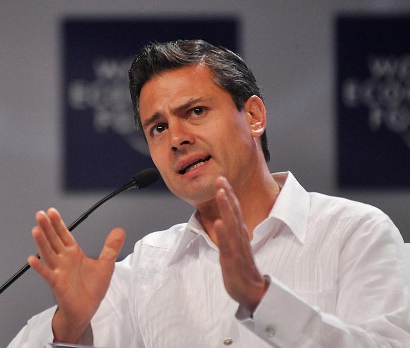 """""""Nesta manhã informamos à Casa Branca que não participarei da reunião de trabalho programada para a próxima terça-feira"""", disse Peña Nieto"""