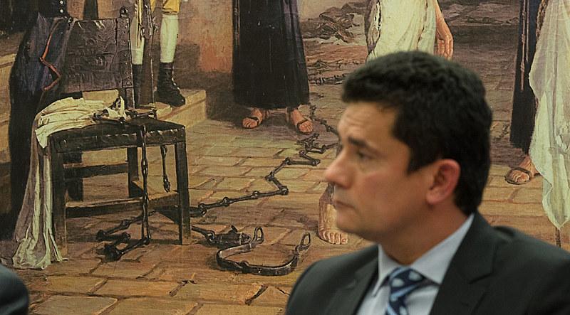 Juiz Sérgio Moro, da 13ª Vara Federal de Curitiba