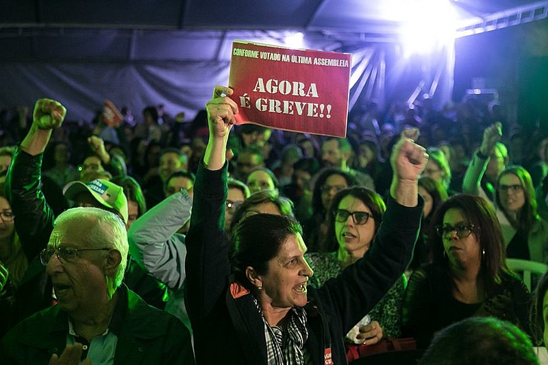 Assembleia do Simpa foi realizada na noite desta sexta-feira no Largo Zumbi dos Palmares