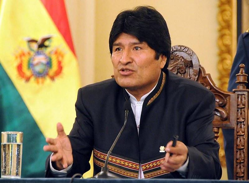Evo Morales disse que o ano de 2016 deve ser o mais quente já registrado, como divulgado pela OMM (Organização Metereológica Mundial)
