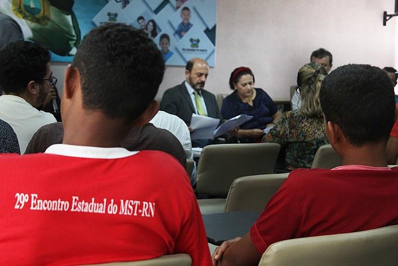 Evento de relançamento do Comitê ocorreu no auditório da governadoria