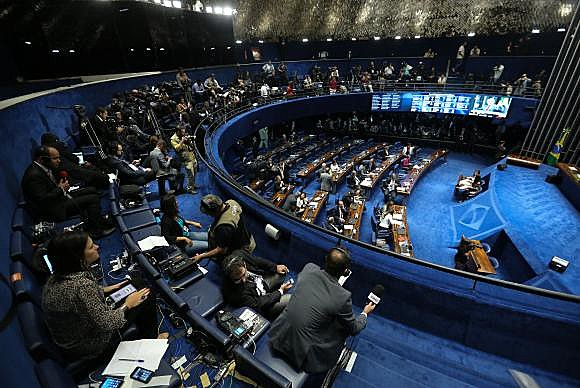 Presidente do Senado, Renan Calheiros (PMDB-AL), abrirá a sessão e passará o comando para Lewandowski