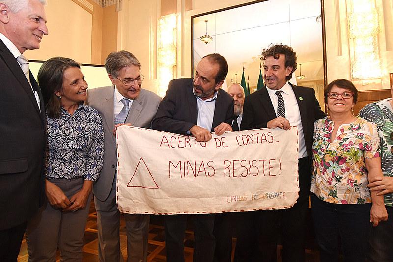 Na manhã desta segunda (16) aconteceu um ato público na Salão Nobre da Prefeitura de Belo Horizonte
