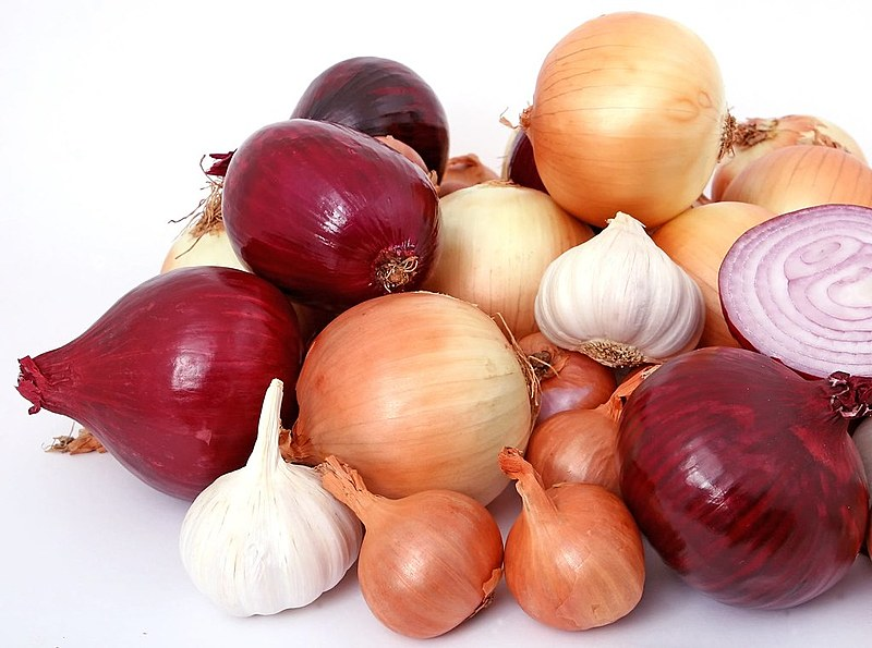 A cebola tem propriedades antioxidantes, alto poder curativo, além de ajudar a circulação sanguínea