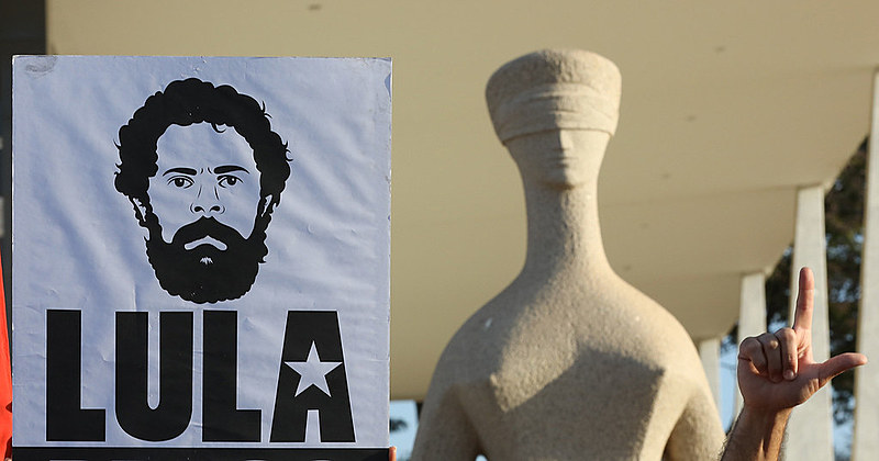 Manifestantes foram reprimidos no início da greve de fome realizado nesta terça (31)
