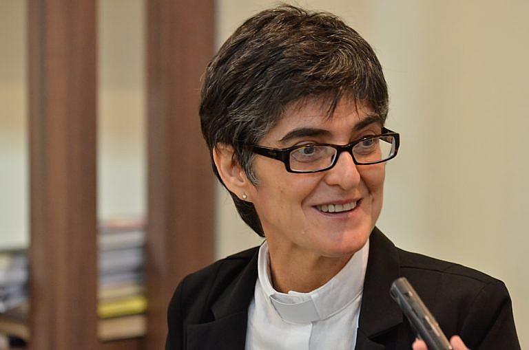 A pastora luterana Lusmarina Campos Garcia