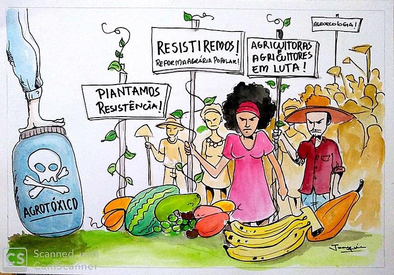 Charle ilustra resistência do povo camponês