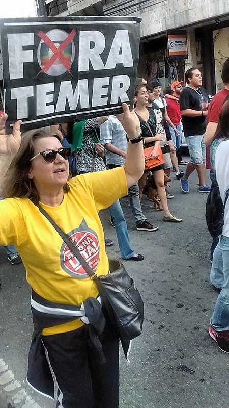 Servidores municipais de Curitiba também se somam ao ato nacional