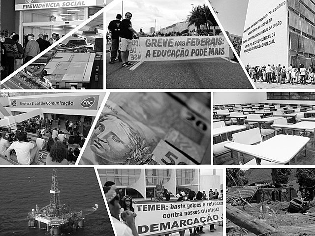 Foram muitos os direitos perdidos ou ameaçados em 2016; Reforma da Previdência é umas das que mais preocupam os brasileiros
