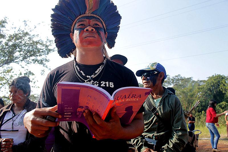 O relatório foi elaborado pela Comissão Guarani Yvy Rupa, com apoio do Centro de Trabalho Indigenista (CTI)