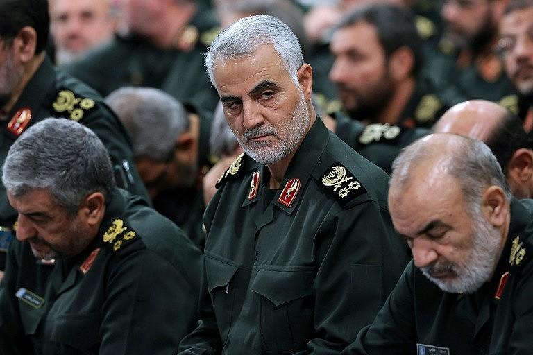 O general Qasem Soleimani era um comandante do alto escalão da Guarda Revolucionária Islâmica