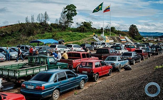 Fronteira do Brasil com a Venezuela sofreria os primeiros impactos caso ocorram mudanças na relação entre os dois países