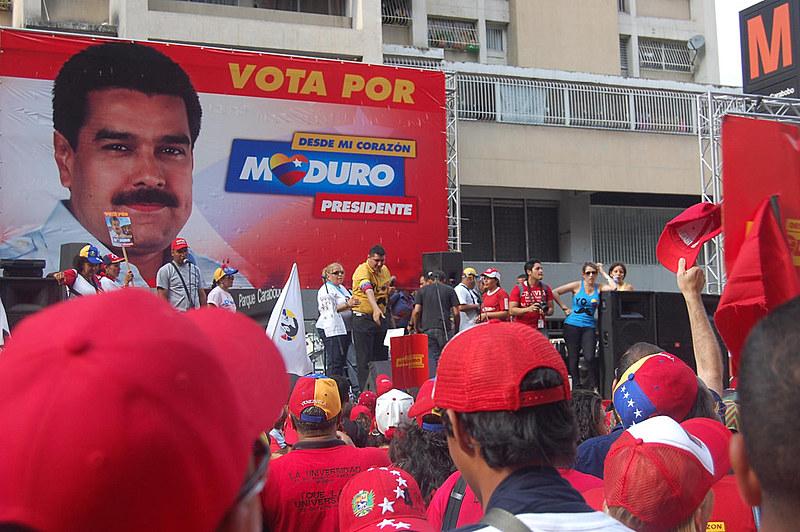 Encerramento da campanha de Nicolás Maduro à presidência em 2013