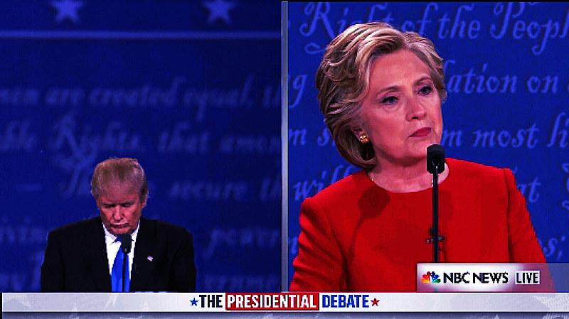 Hillary Clinton e Donald Trump tiveram primeiro debate televisionado