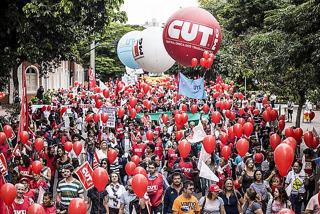 Dia Nacional de paralisação e Mobilização em Belo Horizonte