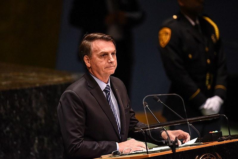 """Bolsonaro na ONU: Amazônia """"não está sendo devastada nem consumida pelo fogo, como diz mentirosamente a mídia"""""""