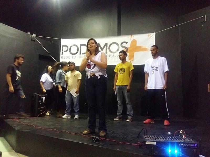 Estudantes de cursinhos populares do Brasil se reuniram em São Paulo para o lançamento oficial da Rede de Cursinhos Populares Podemos Mais