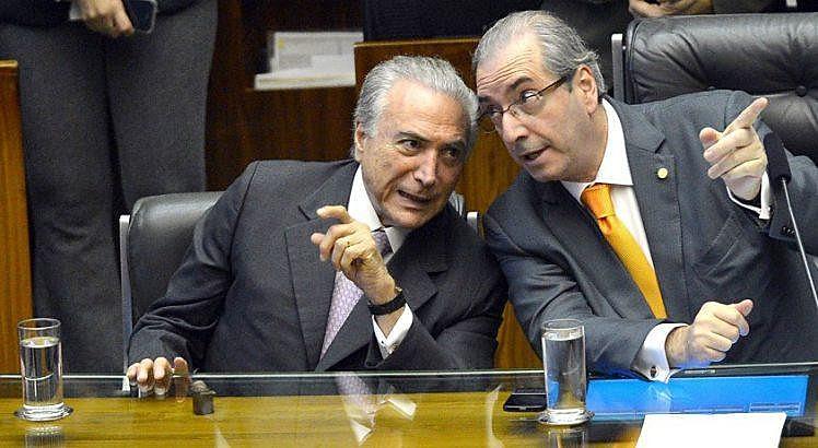 De acordo com a PGR, Temer teria dado o aval para a compra do silêncio de Cunha