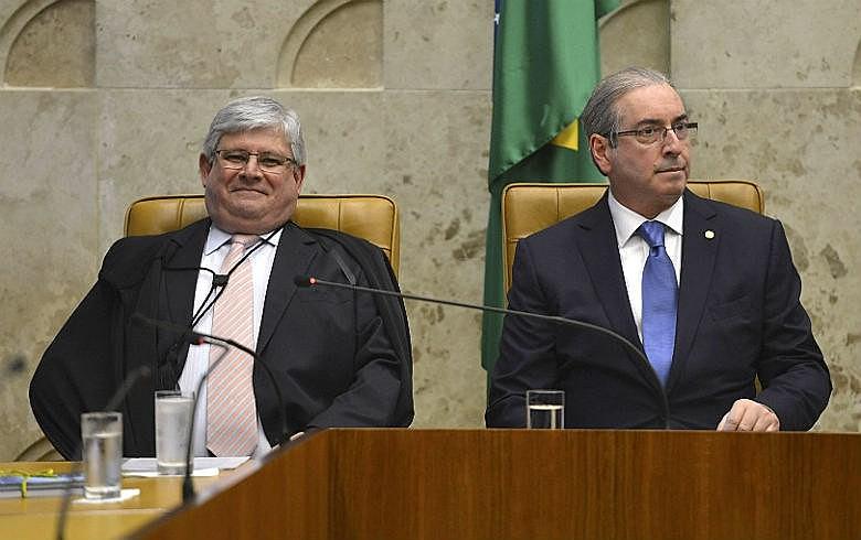 Janot e Cunha: PGR levantou indícios de corrupção e lavagem de dinheiro, como o uso de contas na Suíça