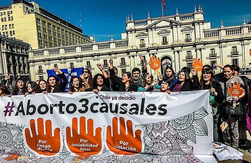 Com a decisão do Tribunal Constitucional, o Chile sai da lista de países do mundo em que o aborto está proibido em qualquer circunstância