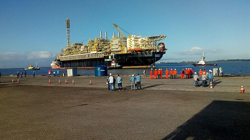 Estrutura operará no campo de Búzios, no pré-sal da Bacia de Santos