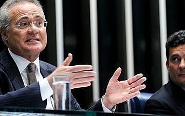 """Renan Calheiros manobra para aprovar as """"10 medidas contra a corrupção"""""""