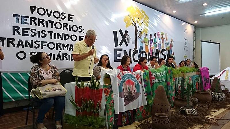 """A ASA quer estar mais junto dos movimentos sociais na construção das suas lutas"""", disse Naidson Baptista, representante da coordenação nacional da Articulação."""
