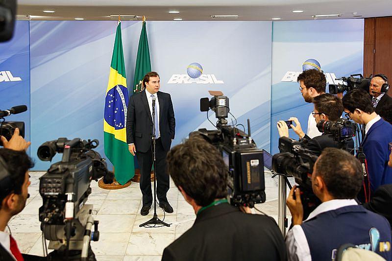 Deputado Rodrigo Maia está em plena campanha para o governo do Estado do Rio