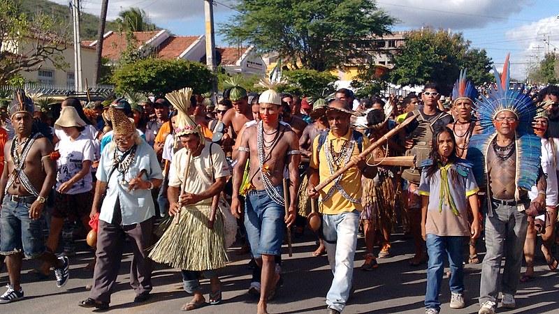 Ato marcou o encerramento da 16ª Assembleia Anual do Povo Xukuru