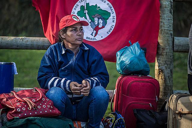 Militante del Movimiento de Trabajadores Sin Tierra (MST)
