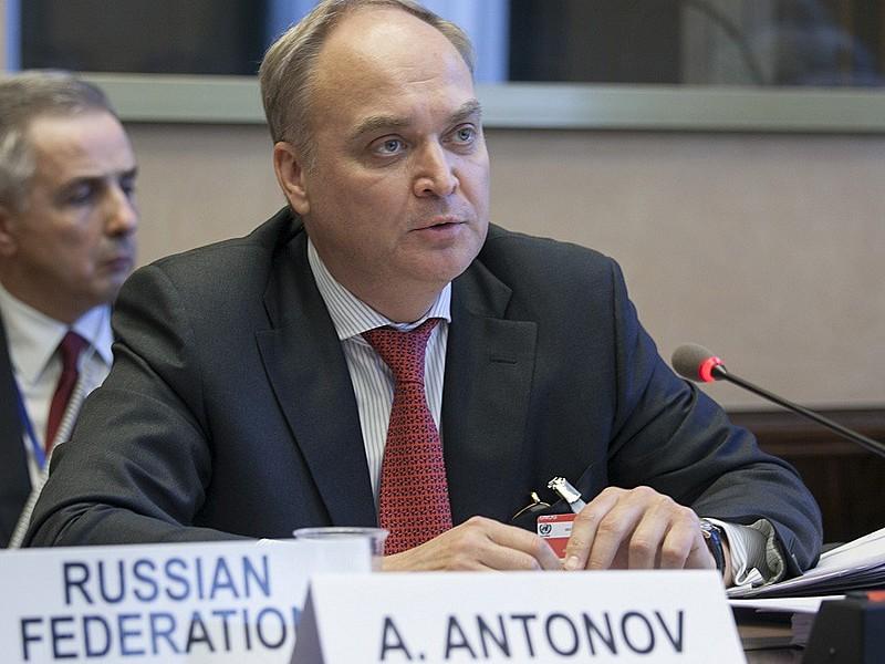 O embaixador da Rússia nos Estados Unidos, Anatoly Antonov
