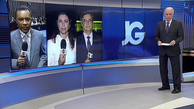 Jornal da Globo, the last of Globo's daily TV news show, had two editions in the night the delation against Temer came to light
