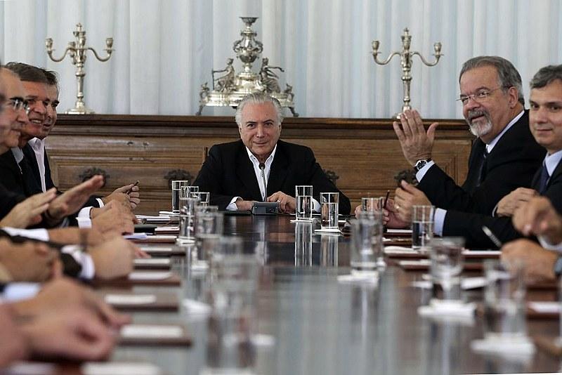 Reunião do Conselho da República e do Conselho de Defesa Nacional, no Palácio do Planalto