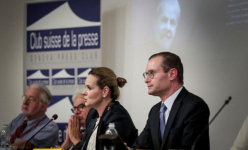 Advogados de Lula, Valeska Teixeira Zanin e Cristiano Zan denunciam em Genebra que a prisão do ex-presidente desrespeita manifestação da ONU