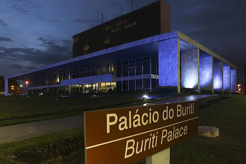 Palácio do Buriti, localizado em Brasília, é a sede do Governo do Distrito Federal (GDF)