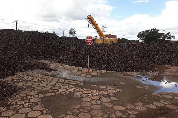 Quase oito mil toneladas de cobre e 10 mil toneladas de manganês foram apreendidas no município de Barcarena