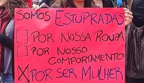 No Brasil, a cada 11 minutos uma mulher é estuprada, segundo dados do Fórum Brasileiro de Segurança Pública (FBSP). Em 2014, foram quase 50 mil mulheres vítimas desse crime, no país.