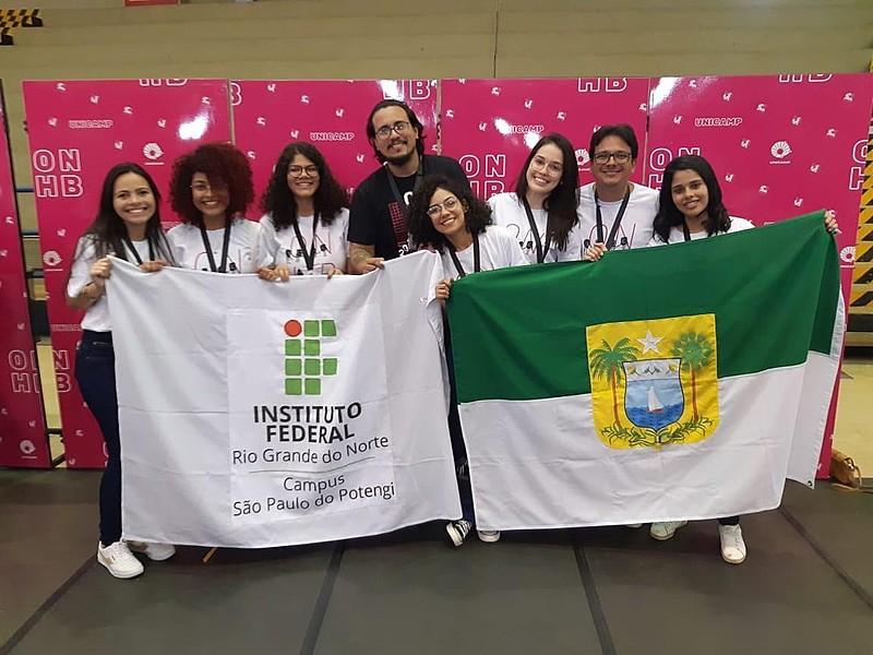 Das 20 medalhas do RN, 19 foram conquistadas por estudantes do IFRN