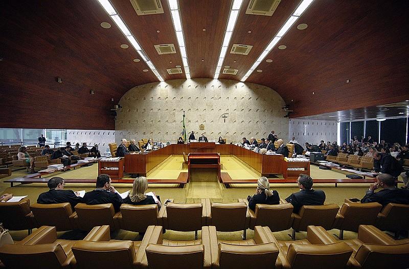 Plenário do Supremo Tribunal Federal, que deve julgar recurso da defesa de Lula no dia 25