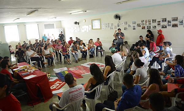 O grupo de jovens fundou um Comitê Popular em Defesa de Lula da Juventude do Sertão do Pajeú