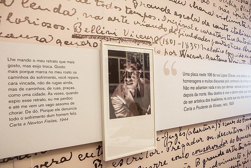 """Museu """"Casa Mário de Andrade"""", em São Paulo, guarda a vida e obra do autor"""