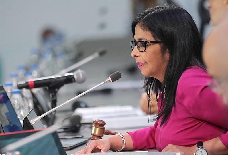 Delcy Rodriguez, chanceler venezuelana