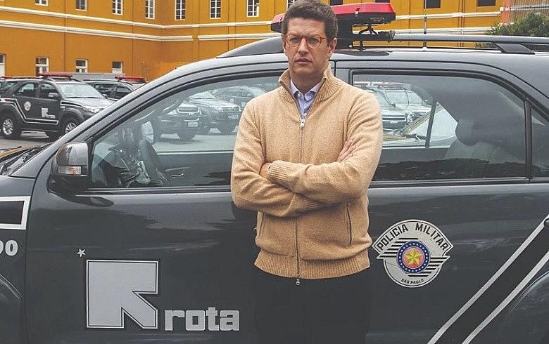 O ministro do Meio Ambiente, Ricardo Salles, que tem aparelhado a pasta com a presença de militares